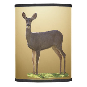 Deer lamp shades zazzle standing deer lamp shade mozeypictures Gallery
