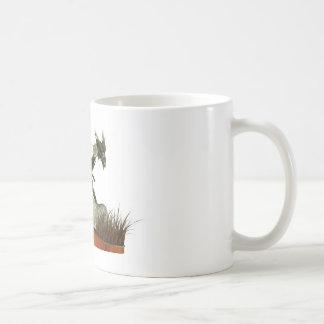 Standing Dragon on a Rock Coffee Mug