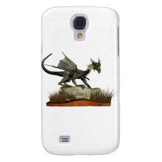 Standing Dragon on a Rock Samsung Galaxy S4 Cover
