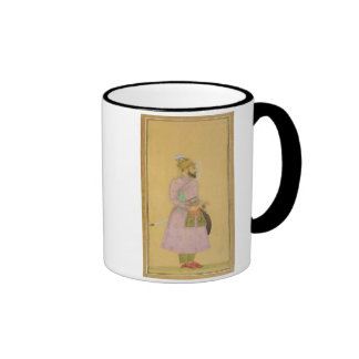 Standing figure of a Mughal prince, from the Small Ringer Coffee Mug