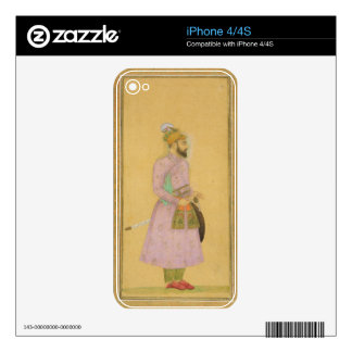 Standing figure of a Mughal prince, from the Small iPhone 4 Skin