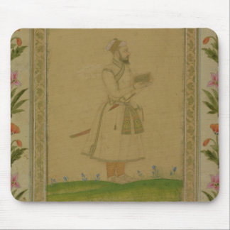 Standing figure of a nobleman, holding a book, fro mouse pad