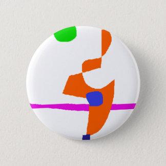 Standing Fire Pinback Button