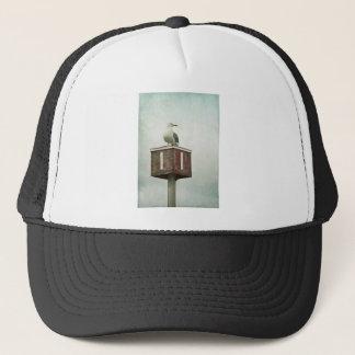 Standing Guard Trucker Hat