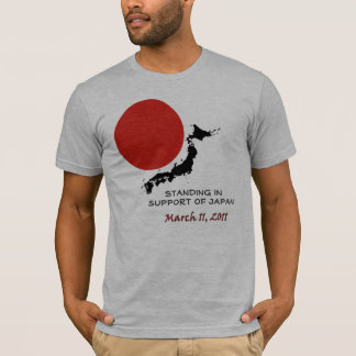 Standing In Support Of Japan T-Shirt