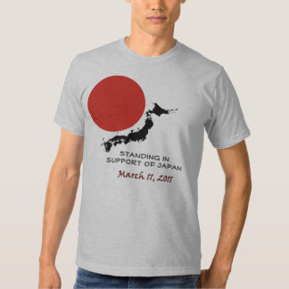 Standing In Support Of Japan Tee Shirt