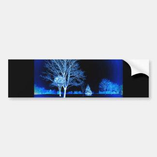 Standing In The Snow Bumper Sticker