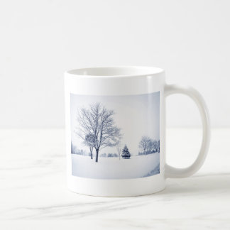Standing In The Snow Coffee Mug