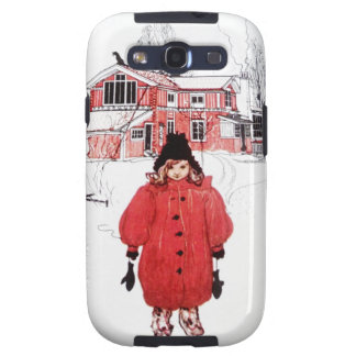 Standing in Winter Snow Samsung Galaxy S3 Cover