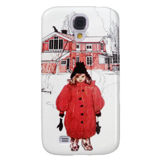 Standing in Winter Snow Samsung Galaxy S4 Cover