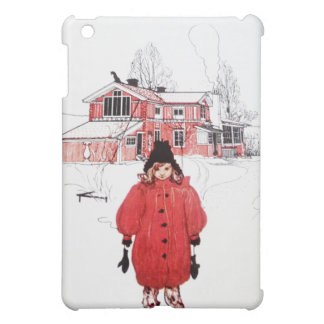 Standing in Winter Snow Case For The iPad Mini
