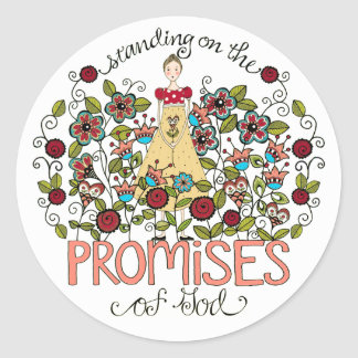 Standing on God s Promises Stickers
