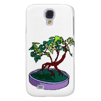 Standing On Root Elm Like Bonsai Tree Samsung S4 Case