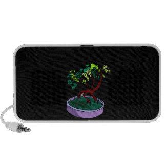Standing On Root Elm Like Bonsai Tree iPod Speakers