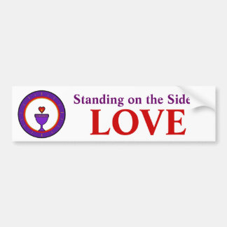 Standing on the Side of Love Bumper Stickers