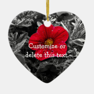 Standing Out; Customizable Ceramic Ornament