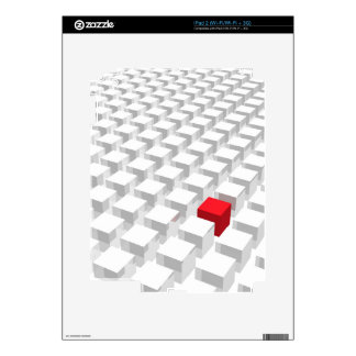 Standing Out Skin For iPad 2
