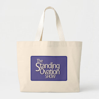 standing-ovation-logo large tote bag