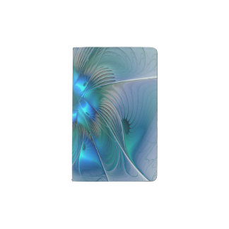 Standing Ovations, Abstract Fractal Art Pocket Moleskine Notebook