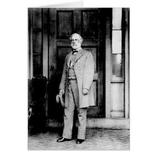 Standing Portrait of General Robert E. Lee Card