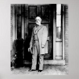 Standing Portrait of General Robert E. Lee Poster