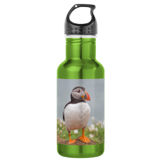 Standing Puffin Water Bottle