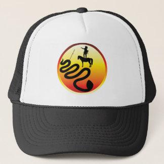 Standing Rock Bllack Snake Trucker Hat