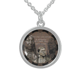 Standing Rock Sterling Silver Necklace