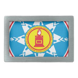 Standing Rock tribe logo Belt Buckle