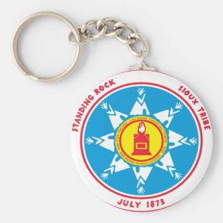 Standing Rock tribe logo Keychain