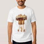 Standing salt, rock crystal with silver gilt t-shirt