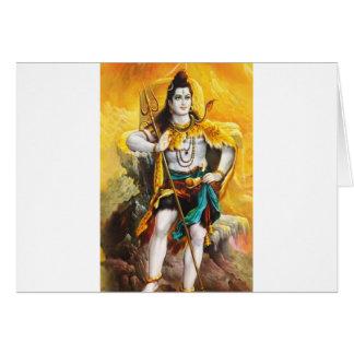 standing shiva card