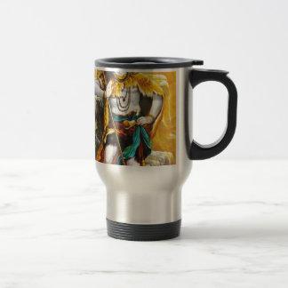 standing shiva 15 oz stainless steel travel mug