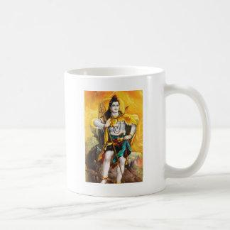 standing shiva classic white coffee mug