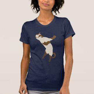 Standing Siamese Cat T Shirt