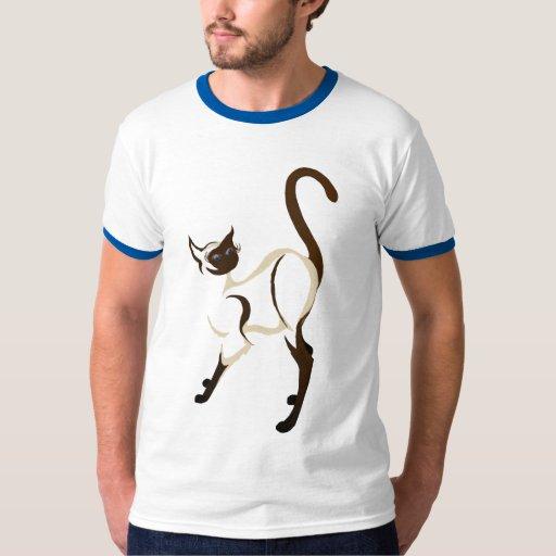 Standing Siamese Kitty Shirts