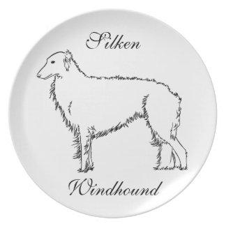 Standing Silken Plate
