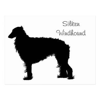 Standing Silken Postcard