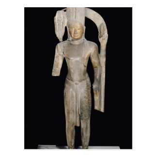 Standing statue of Harihara Postcard