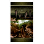 Standing Stone Circle Profile Cards Double-Sided Standard Business Cards (Pack Of 100)