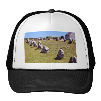 Standing stones at Carnac in France Trucker Hat