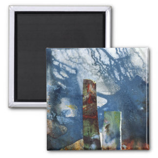 Standing Stones II 2 Inch Square Magnet