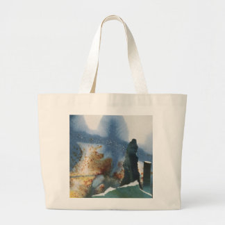 Standing Stones Large Tote Bag