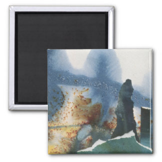 Standing Stones 2 Inch Square Magnet