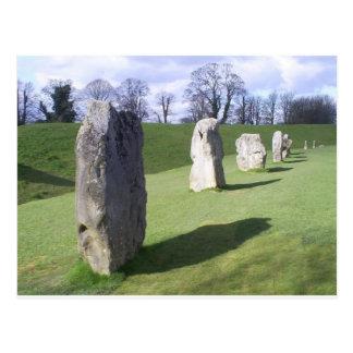 standing stones postcard