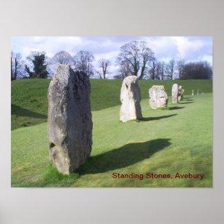 Standing Stones print