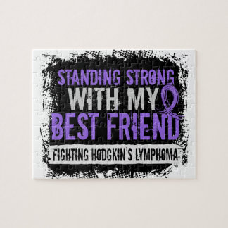 Standing Strong Best Friend Hodgkins Lymphoma Jigsaw Puzzle