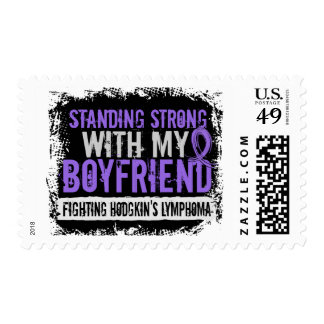 Standing Strong Boyfriend Hodgkins Lymphoma Stamps
