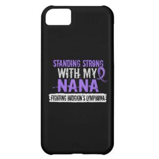 Standing Strong Nana Hodgkins Lymphoma iPhone 5C Cover