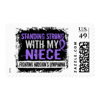 Standing Strong Niece Hodgkins Lymphoma Postage